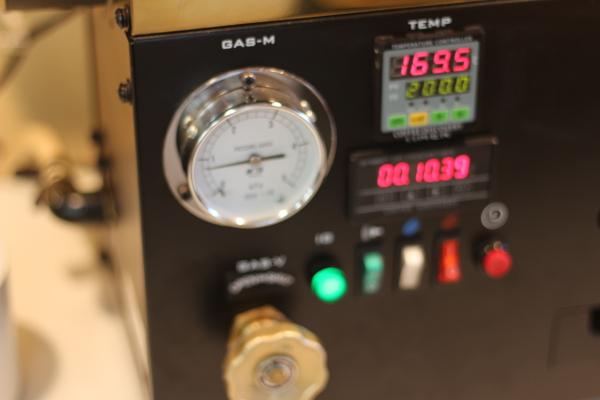 コーヒー焙煎機